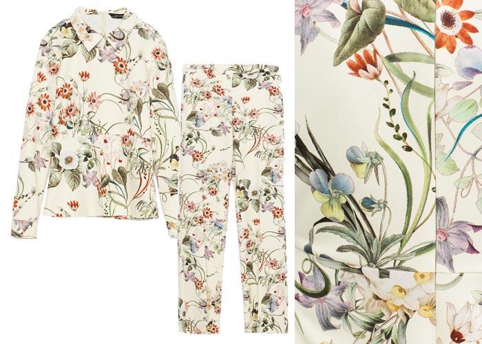 Copycat: Zara vs. Gucci's bloemenprint, Inspiratie voor Zara komt van modehuis Gucci: bekijk de bloemenprint eens in het lookbook van Zara en bij Gucci.