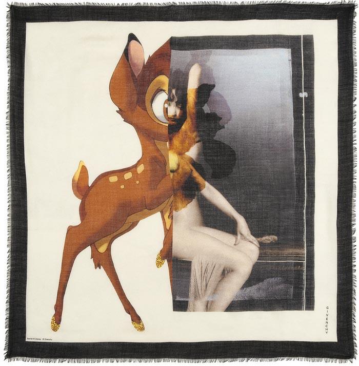 Sjaals, shawls, scarfs van Givenchy. Bambi, Rottweiler, 17 Maria print. Hippe sjaals vind je bij Givenchy. Ga voor een Bambi, Rottweiler of 17 Maria print.