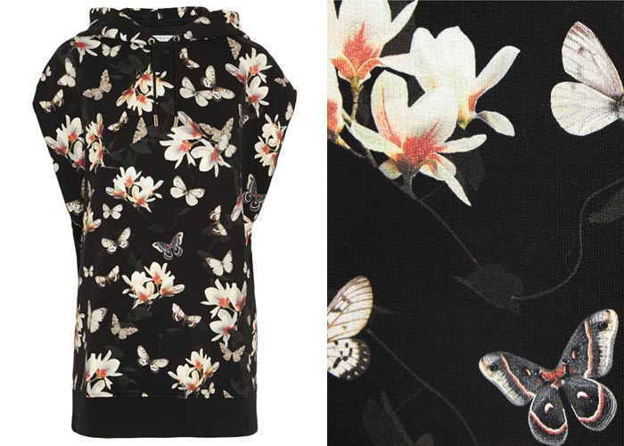 Musthave: Givenchy bloemenprint. Tassen, backpacks, jurken, tees, shirts en sandalen. Alles over de collectie van Givenchy: 2015. Bloemenprints zijn hot.
