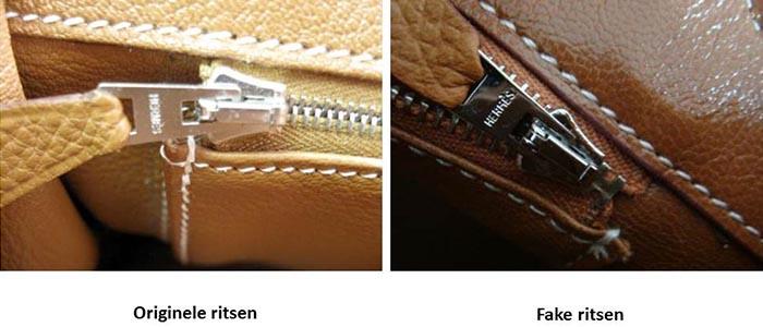 Hermes Birkin bag: Nep of Echt? Lees hier alles over verschillen en overeenkomsten tussen de originele en fake Hermes Birkin bag. Met foto's etc.