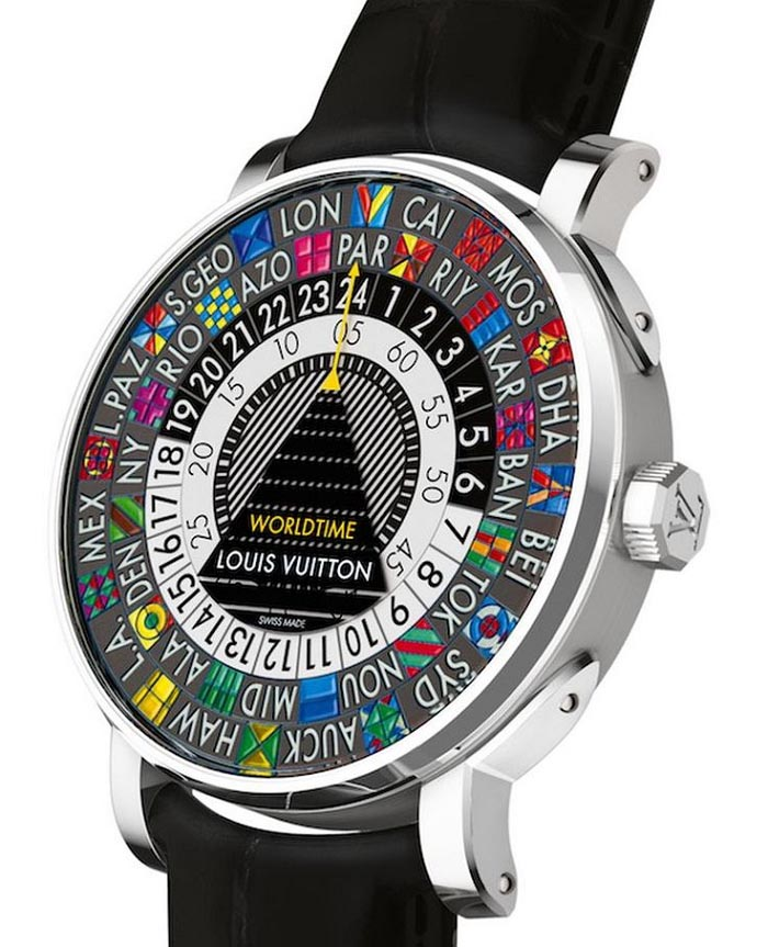 Louis Vuitton horloge: de Traveller Watch. Met dit Louis Vuitton horloge steel je zeker de show. Bekijk de Escale Worldtime watch hier.