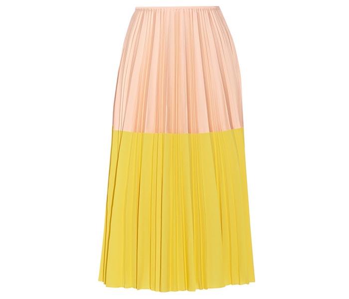 Musthave: Midi skirts, rokken, midirokken. Trends lente 2015: kleurrijke midiskirts, midirokken, halflange rokken en meer. Ontdek deze hier van Zara tot Suno.