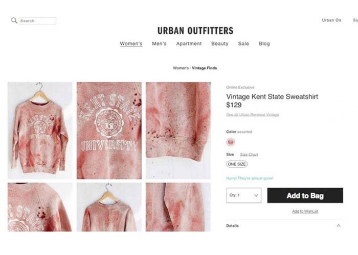 Urban Outfitters slaat de plank (weer) mis. Modeketen Urban Outfitters onder vuur door concentratiekamp kleding, de Obama kleur en door Ghettopoly.