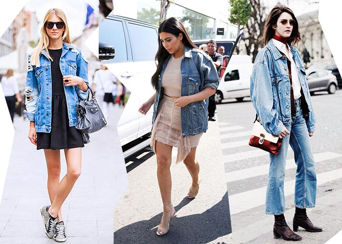 Oversized denim jacket: musthave 2015. Voor de dames: het oversized denim jacket. Shop deze fashion musthave online. Shop deze dames musthave online.