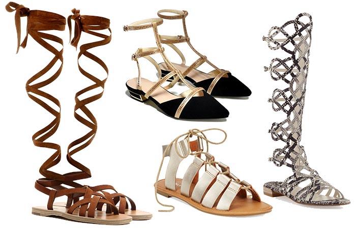 gladiator sandalen online