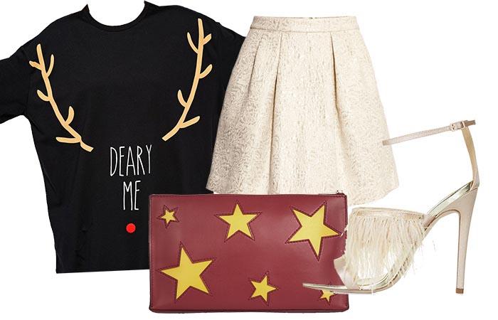 Kerst trui: hoe draag je deze? Mix & match, combineer en outfit tips. Alles over de kerst trui: hoe draag je deze tijdens de kerstdagen. Inspiratie nodig?