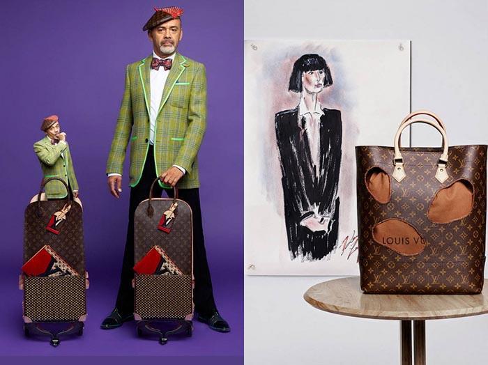 LV logo wordt door Karl Lagerfeld en Louboutin in een nieuw jasje gestoken voor 160 jaar Louis Vuitton. Bekijk hier het nieuwe LV logo. Wat vind jij?