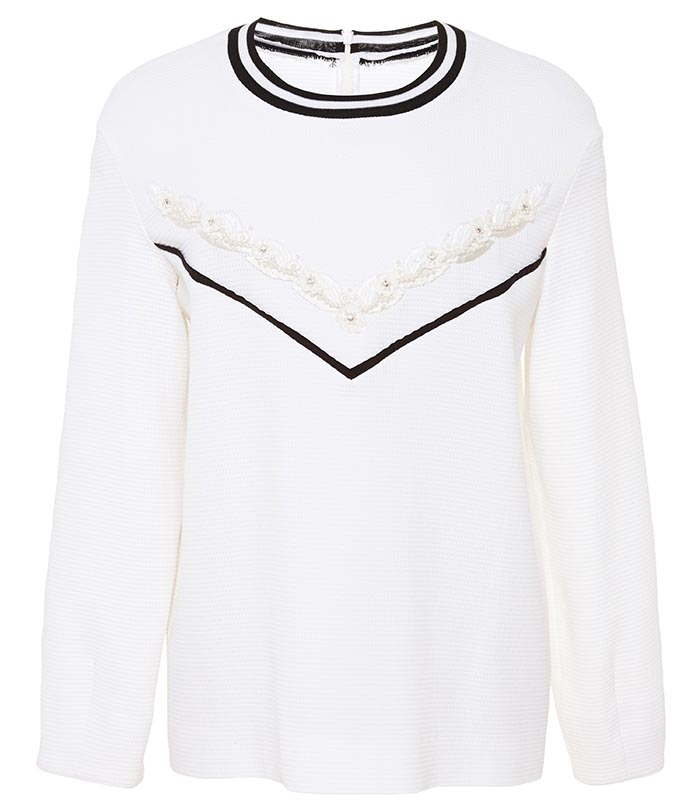 Zara kopieert wit sweatshirt Mother of Pearl. Alles over modeketen Zara die wit sweatshirt van Mother of Pearl heeft gekopieert. Ontdek alles hier.