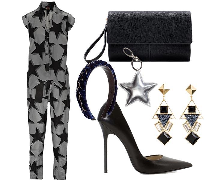 Must have kleding item: sterren jumpsuit. Alles over deze Vivienne Westwood jumpsuit, een echt must have kleding item voor de feestdagen en kerst.