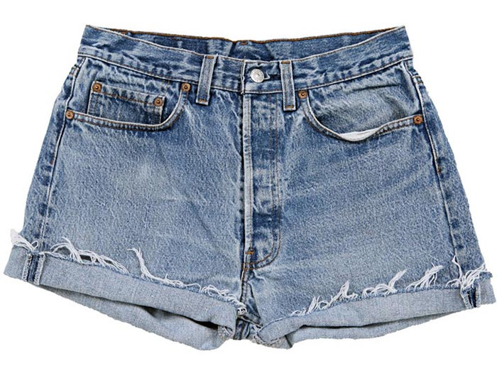 Zomer musthave: Vintage Levi's shorts. Alles over musthaves van 2014: vintage Levi's shorts. Perfect voor het festival seizoen. Een hit in de fashion!